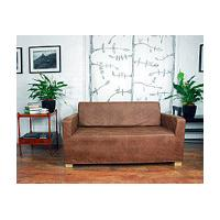 Ikea Solsta Sofa Bed slip cover in Distressed Effect Faux Leather