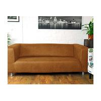 Ikea Klippan 4 Seat Sofa cover in Distressed faux leather fabric 8 Colours available